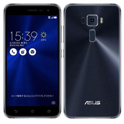 SIMフリー ASUS ZenFone3 5.2 Dual SIM ZE520KL-BK32S3 Black 【32GB 国内版 SIMフリー】[中古Cランク]【当社3ヶ月間保証】 スマホ 中古 本体 送料無料【中古】 【 中古スマホとタブレット販売のイオシス 】