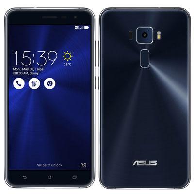 SIMフリー ASUS ZenFone3 5.5 Dual SIM ZE552KL Sapphire Black 【64GB 台湾版SIMフリー】[中古Bランク]【当社3ヶ月間保証】 スマホ 中古 本体 送料無料【中古】 【 中古スマホとタブレット販売のイオシス 】