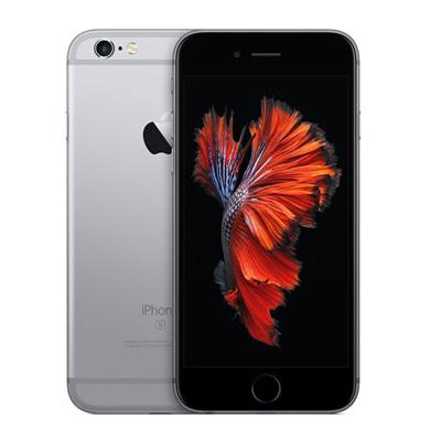 美品 【中古】 送料無料 iPhone6s 128GB ネットワーク永久保証 本体 iPhone au MKQT2J/ スペースグレイ A Apple 延長保証