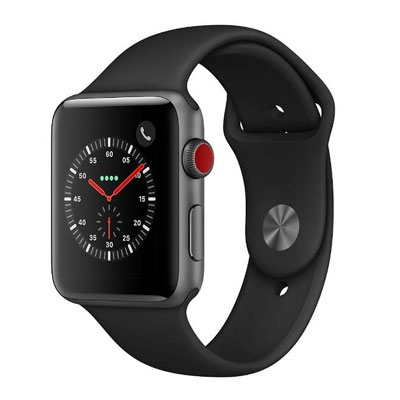バンド無し アップル Apple Watch Series 2 42mm ローズゴールドアルミニウムケース 【送料無料】 【中古】