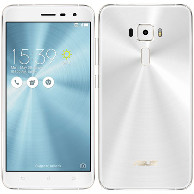 SIMフリー 【再生品】ASUS ZenFone3 5.5 Dual SIM ZE552KL-WH64S4 Moonlight White【64GB 国内版SIMフリー】[中古Bランク]【当社3ヶ月間保証】 スマホ 中古 本体 送料無料【中古】 【 中古スマホとタブレット販売のイオシス 】