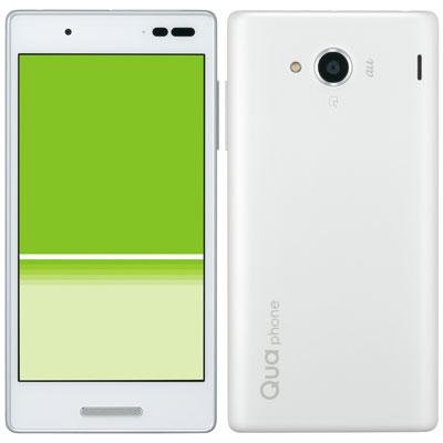 白ロム au Qua phone QX KYV42 ホワイト[中古Bランク]【当社3ヶ月間保証】 スマホ 中古 本体 送料無料【中古】 【 中古スマホとタブレット販売のイオシス 】
