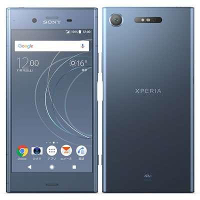 白ロム au Sony Xperia XZ1 SOV36 Moonlit Blue[中古Bランク]【当社3ヶ月間保証】 スマホ 中古 本体 送料無料【中古】 【 中古スマホとタブレット販売のイオシス 】