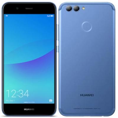 SIMフリー 未使用 Huawei nova2 PIC-LX9(HWU33SLU) Aurora Blue【UQ版 SIMフリー】【当社6ヶ月保証】 スマホ 中古 本体 送料無料【中古】 【 中古スマホとタブレット販売のイオシス 】