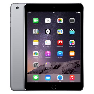 白ロム iPad mini3 Wi-Fi Cellular (MGJ02J/A) 64GB スペースグレイ[中古Cランク]【当社3ヶ月間保証】 タブレット au 中古 本体 送料無料【中古】 【 中古スマホとタブレット販売のイオシス 】