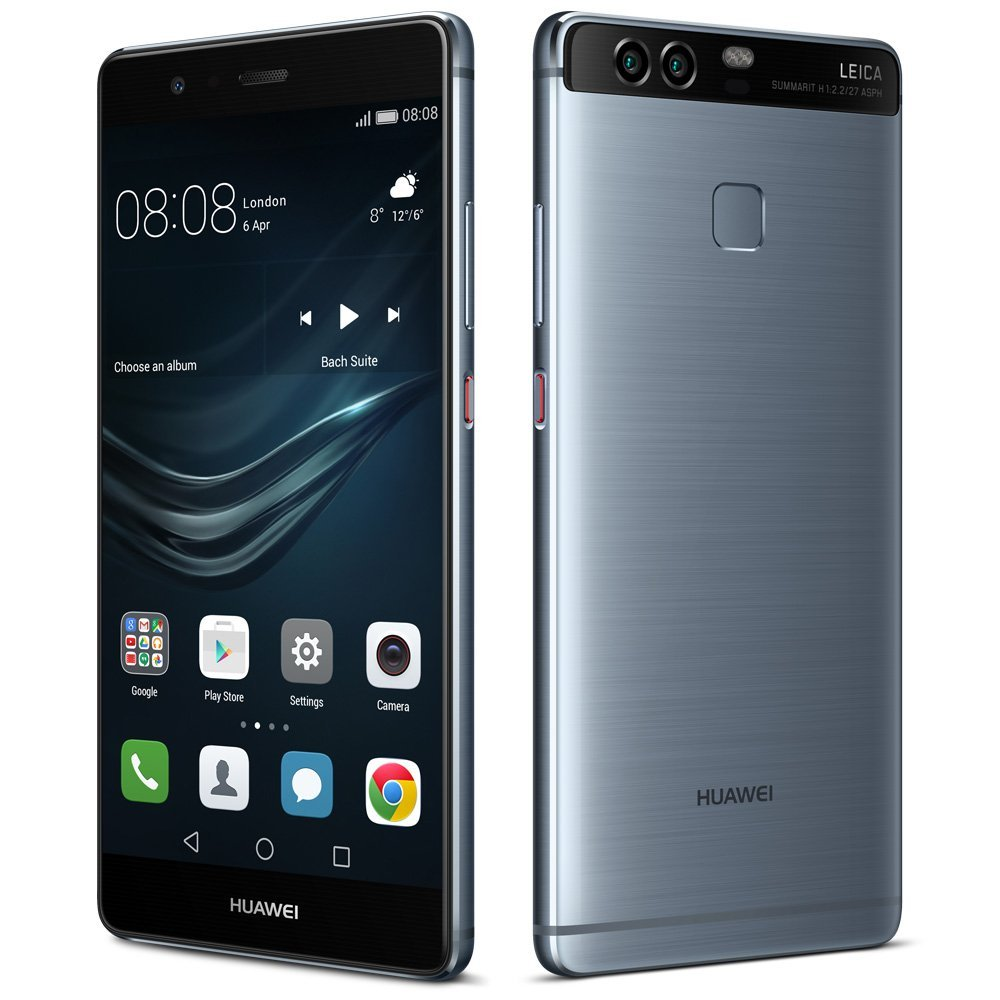 SIMフリー Huawei P9 EVA-L09 Blue (Huawei Vision Edition) 【国内版 SIMフリー】[中古Cランク]【当社3ヶ月間保証】 スマホ 中古 本体 送料無料【中古】 【 中古スマホとタブレット販売のイオシス 】