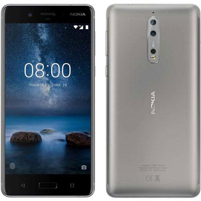 SIMフリー Nokia 8 Dual-SIM TA-1052 【Steel 64GB 海外版 SIMフリー】[中古Cランク]【当社3ヶ月間保証】 スマホ 中古 本体 送料無料【中古】 【 中古スマホとタブレット販売のイオシス 】