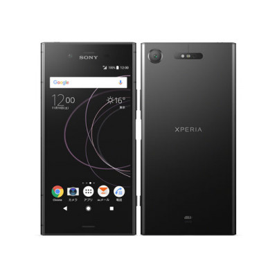 白ロム au 【SIMロック解除済】Sony Xperia XZ1 SOV36 Black[中古Bランク]【当社3ヶ月間保証】 スマホ 中古 本体 送料無料【中古】 【 中古スマホとタブレット販売のイオシス 】