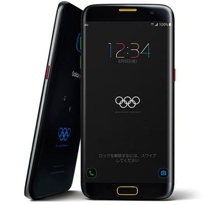 白ロム au 【SIMロック解除済】Galaxy S7 edge Olympic Games Edition SCV33【シリアルナンバー0724】[中古Cランク]【当社3ヶ月間保証】 スマホ 中古 本体 送料無料【中古】 【 中古スマホとタブレット販売のイオシス 】