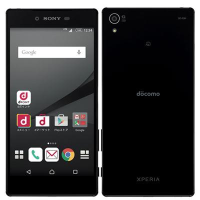 白ロム docomo 【イヤホンジャック不良】Xperia Z5 Premium SO-03H Black[中古Cランク]【当社3ヶ月間保証】 スマホ 中古 本体 送料無料【中古】 【 中古スマホとタブレット販売のイオシス 】