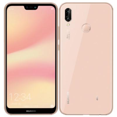 白ロム au Huawei P20 lite HWV32 Sakura Pink[中古Bランク]【当社3ヶ月間保証】 スマホ 中古 本体 送料無料【中古】 【 中古スマホとタブレット販売のイオシス 】