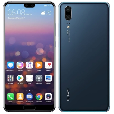 SIMフリー Huawei P20 EML-L29 Midnight Blue【国内版 SIMフリー】[中古Cランク]【当社3ヶ月間保証】 スマホ 中古 本体 送料無料【中古】 【 中古スマホとタブレット販売のイオシス 】