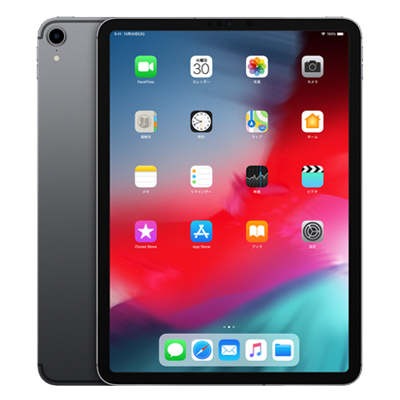 iPad Pro 11インチ Wi-Fi+Cellular (MU102J/A) 256GB スペースグレイ【国内版 SIMフリー】[中古Aランク]【当社3ヶ月間保証】 タブレット 中古 本体 送料無料【中古】 【 中古スマホとタブレット販売のイオシス 】