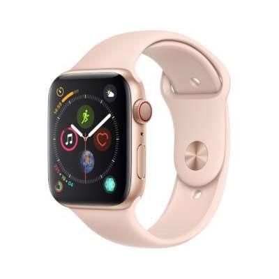 【送料無料】当社6ヶ月保証[未使用品]■Apple Apple Watch Series4 GPS+Cellularモデル 44mm MTVW2J/A 【ゴールドアルミニウム/ピンクサンドスポーツバンド】【周辺機器】中古【中古】 【 中古スマホとタブレット販売のイオシス 】