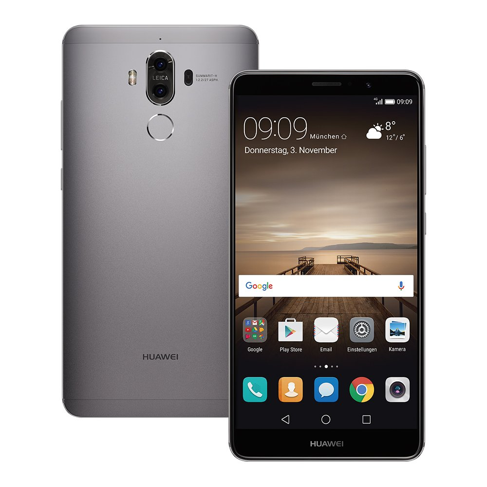 SIMフリー Huawei Mate 9 MHA-L29 Space Gray【海外版SIMフリー】[中古Cランク]【当社3ヶ月間保証】 スマホ 中古 本体 送料無料【中古】 【 中古スマホとタブレット販売のイオシス 】