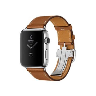 【送料無料】当社1ヶ月間保証[中古Bランク]■Apple Apple Watch Hermes Series2 42mm MNUH2J/A ステンレススチール/シンプルトゥールディプロイアントバックル/ヴォーバレニア【周辺機器】中古【中古】 【 中古スマホとタブレット販売のイオシス 】
