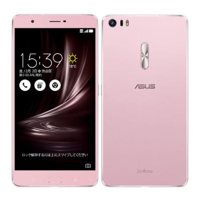 SIMフリー ASUS ZenFone3 Ultra Dual SIM ZU680KL-RG32S4 32GB Rose Gold 【国内版 SIMフリー】[中古Cランク]【当社3ヶ月間保証】 スマホ 中古 本体 送料無料【中古】 【 中古スマホとタブレット販売のイオシス 】