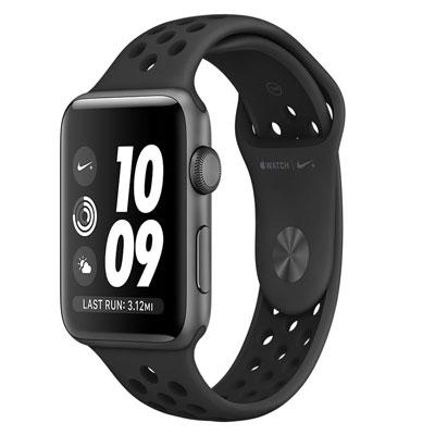 【送料無料】当社1ヶ月間保証[中古Aランク]■Apple Apple Watch Series2 Nike+ 42mm MQ1M2J/A [アンスラサイト/ブラックNikeスポーツバンド]【周辺機器】中古【中古】 【 中古スマホとタブレット販売のイオシス 】