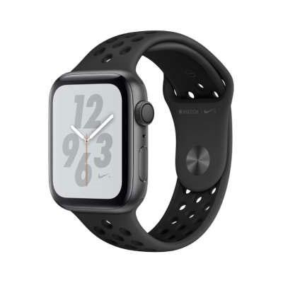 【送料無料】当社1ヶ月間保証[未使用品]■Apple Apple Watch Nike+ Series4 GPSモデル 44mm MU6L2J/A [アンスラサイト/ブラックNikeスポーツバンド]【周辺機器】中古【中古】 【 中古スマホとタブレット販売のイオシス 】
