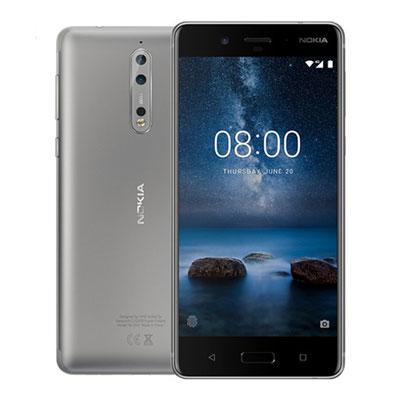SIMフリー 未使用 Nokia 8 Dual-SIM TA-1004DS 【Steel 64GB 海外版 SIMフリー】【当社6ヶ月保証】 スマホ 中古 本体 送料無料【中古】 【 中古スマホとタブレット販売のイオシス 】