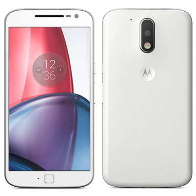 SIMフリー 未使用 Motorola Moto G4 PLUS XT1642 [16GB, White 海外版 SIMフリー]【当社6ヶ月保証】 スマホ 中古 本体 送料無料【中古】 【 中古スマホとタブレット販売のイオシス 】