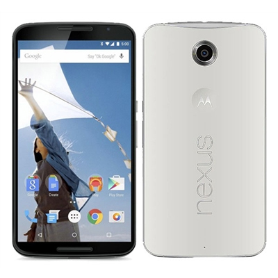 SIMフリー Google Nexus 6 64GB Cloud White [XT1100 SIMフリー][中古Cランク]【当社3ヶ月間保証】 スマホ 中古 本体 送料無料【中古】 【 中古スマホとタブレット販売のイオシス 】