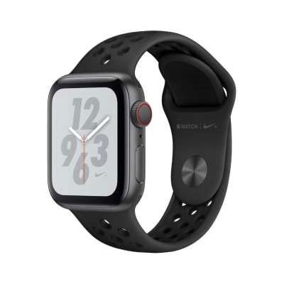 【送料無料】当社1ヶ月間保証[中古Bランク]■Apple Apple Watch Nike+ Series4 GPS+Cellular 40mm MTXG2J/A【アンスラサイト/ブラックNikeスポーツバンド】【周辺機器】中古【中古】 【 中古スマホとタブレット販売のイオシス 】