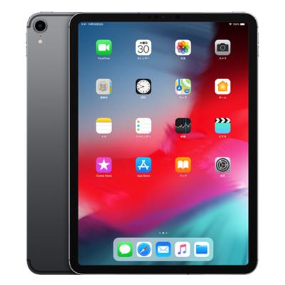 白ロム 未使用 【SIMロック解除済】【第3世代】iPad Pro 11インチWi-Fi Cellular (MU0M2J/A) 64GB スペースグレイ【当社6ヶ月保証】 タブレット SoftBank 中古 本体 送料無料【中古】 【 中古スマホとタブレット販売のイオシス 】