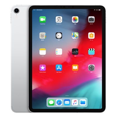 白ロム 【SIMロック解除済】iPad Pro 11インチ Wi-Fi+Cellular A1934 (MU172J/A) 256GB シルバー[中古Bランク]【当社3ヶ月間保証】 タブレット au 中古 本体 送料無料【中古】 【 中古スマホとタブレット販売のイオシス 】