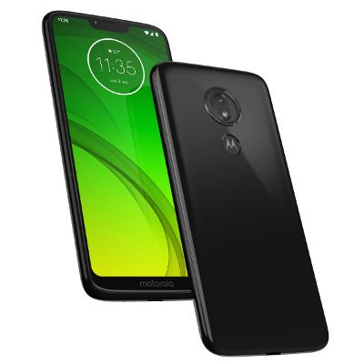 SIMフリー Motorola Moto G7 POWER XT1955-7 [64GB セラミックブラック 国内版SIMフリー][中古Aランク]【当社3ヶ月間保証】 スマホ 中古 本体 送料無料【中古】 【 中古スマホとタブレット販売のイオシス 】