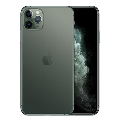 SIMフリー 未使用 iPhone11 Pro Max Dual-SIM 64GB ミッドナイトグリーン MWF02ZA/A A2220【香港版 SIMフリー】【当社6ヶ月保証】 スマホ 中古 本体 送料無料【中古】 【 中古スマホとタブレット販売のイオシス 】