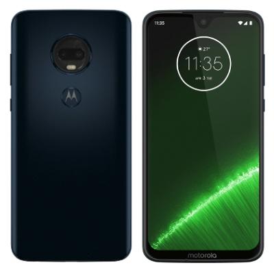 SIMフリー 未使用 Motorola Moto G7 PLUS XT1965-3 [64GBディープインディゴ 国内版SIMフリー]【当社6ヶ月保証】 スマホ 中古 本体 送料無料【中古】 【 中古スマホとタブレット販売のイオシス 】