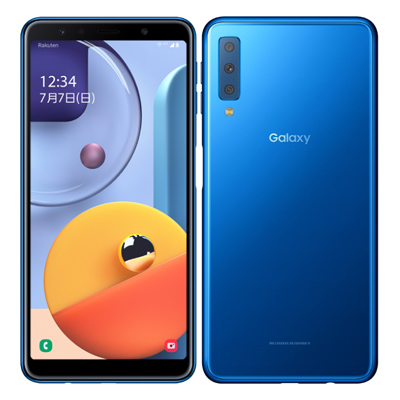 SIMフリー Samsung Galaxy A7 SM-A750C Blue 【版 SIMフリー】[中古Aランク]【当社3ヶ月間保証】 スマホ 中古 本体 送料無料【中古】 【 中古スマホとタブレット販売のイオシス 】