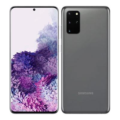 SIMフリー 未使用 Samsung Galaxy S20+(Plus) 5G Dual-SIM SM-G9860【Cosmic Gray 12GB 128GB 海外版 SIMフリー】【ACアダプタ欠品】【当社6ヶ月保証】 スマホ 中古 本体 送料無料【中古】 【 中古スマホとタブレット販売のイオシス 】