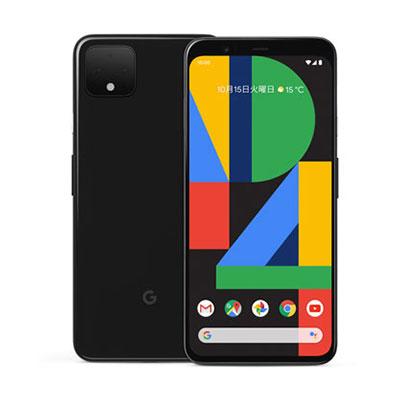 白ロム SoftBank 未使用 【SIMロック解除済】Google Pixel4 XL G020Q 64GB Just Black【当社6ヶ月保証】 スマホ 中古 本体 送料無料【中古】 【 中古スマホとタブレット販売のイオシス 】