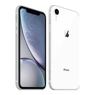 【SIMロック解除済】【ネットワーク利用制限▲】SoftBank iPhoneXR A2106 (MT032J/A) 64GB ホワイト Apple 当社3ヶ月間保証 中古 【 中古スマホとタブレット販売のイオシス 】