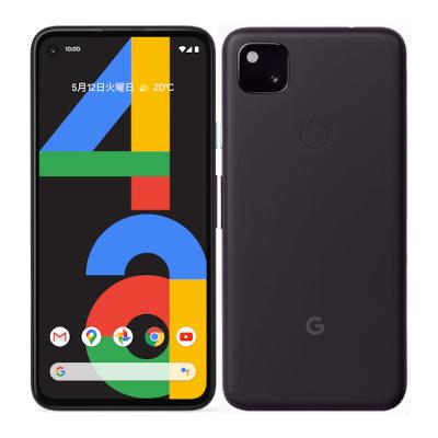 Google 白ロム スマホ 数量は多 本体 中古 送料無料 現品 赤ロム永久保証 当社3ヶ月間保証 Pixel4a LTE SIMフリー 128GB Just Black 中古スマホとタブレット販売のイオシス 国内版 G025M