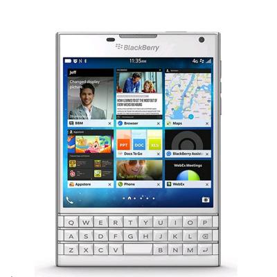 SIMフリー BlackBerry Passport SQW100-1 (RGY181LW) Pure White【海外版 SIMフリー】[中古Aランク]【当社3ヶ月間保証】 スマホ 中古 本体 送料無料【中古】 【 中古スマホとタブレット販売のイオシス 】