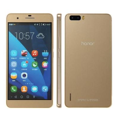 SIMフリー Huawei honor6 plus 32GB (PE-TL10) [Gold 国内版 SIMフリー][中古Aランク]【当社3ヶ月間保証】 スマホ 中古 本体 送料無料【中古】 【 中古スマホとタブレット販売のイオシス 】