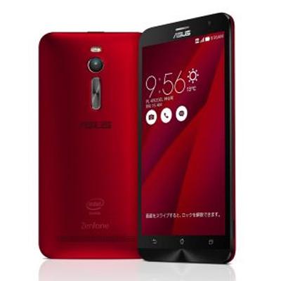 SIMフリー 【再生品】ASUS ZenFone2 (ZE551ML-RD32S4) 32GB Red 【RAM4GB 国内版 SIMフリー】[中古Bランク]【当社3ヶ月間保証】 スマホ 中古 本体 送料無料【中古】 【 中古スマホとタブレット販売のイオシス 】