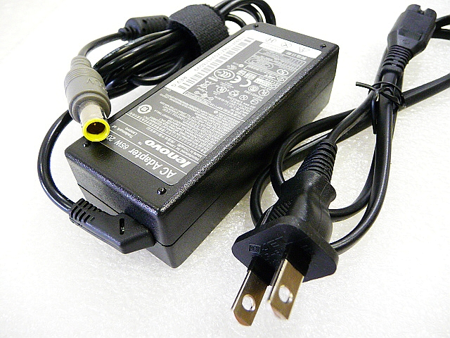 信頼 中古 優良品 X60 X60s T60 T60p R60 R60e X210 旧型PC用ACアダプター20V-3.25A X230対応Lenovo X100e X220 65W お買い得 送料無料