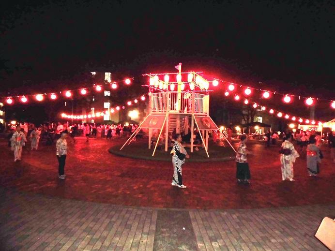 お祭りコード30灯65cm間隔、省エネLED電球(広角度)50w相当品使用