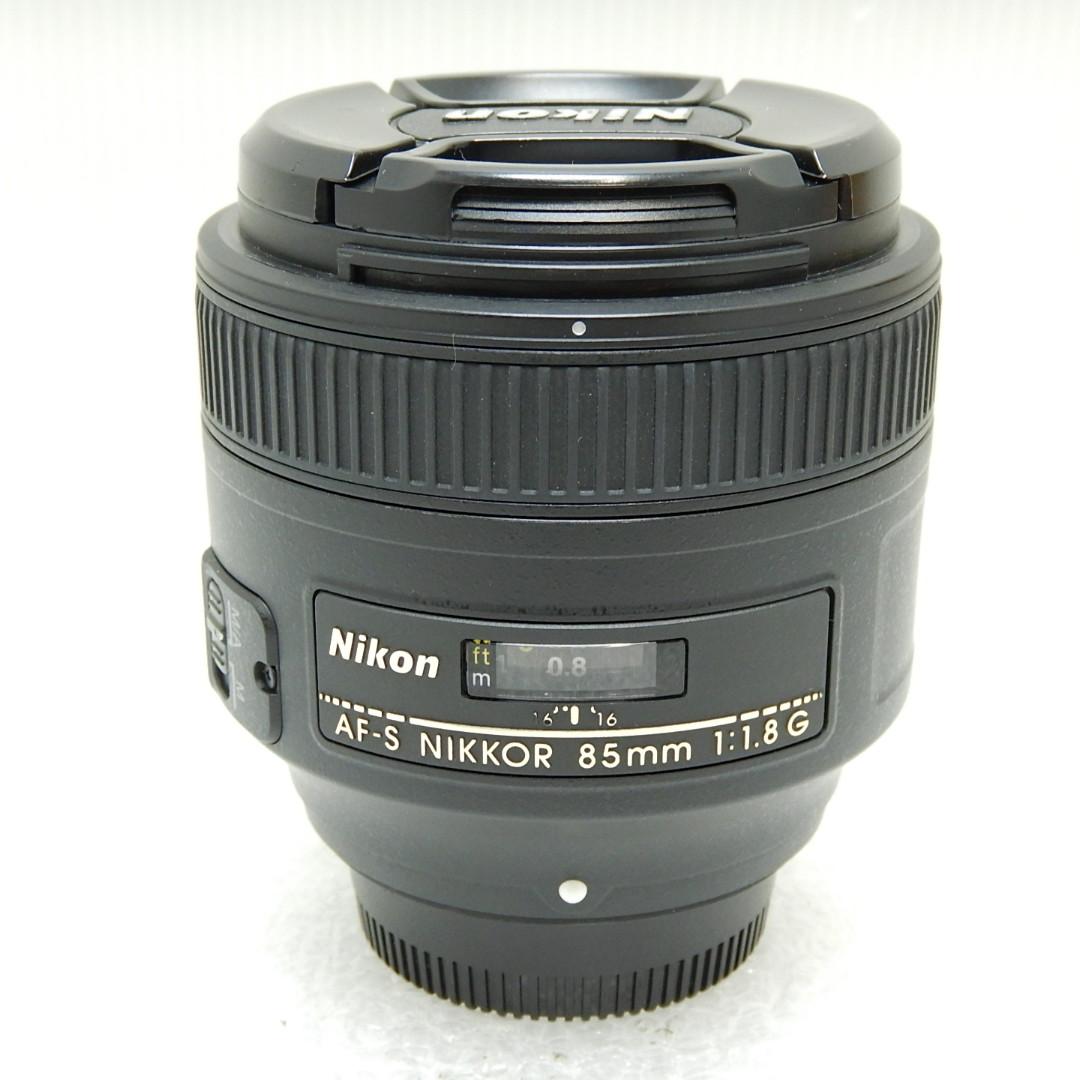 国産品 中古 Bランク Nikon ニコン AF-S 85mm f NIKKOR 本日限定 1.8G あす楽