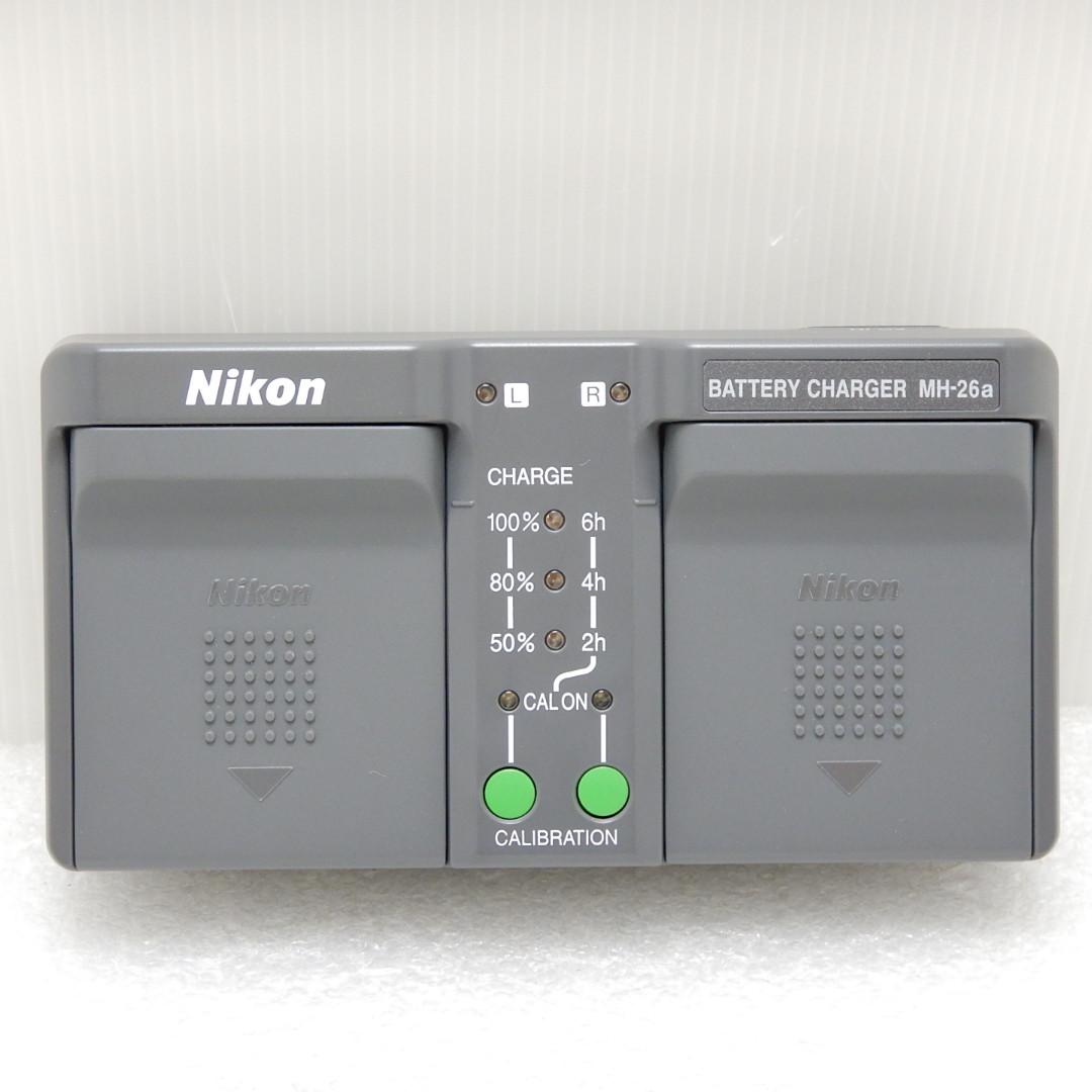 誕生日 お祝い 中古 ディスカウント Aランク Nikon ニコン バッテリーチャージャー あす楽 MH-26a