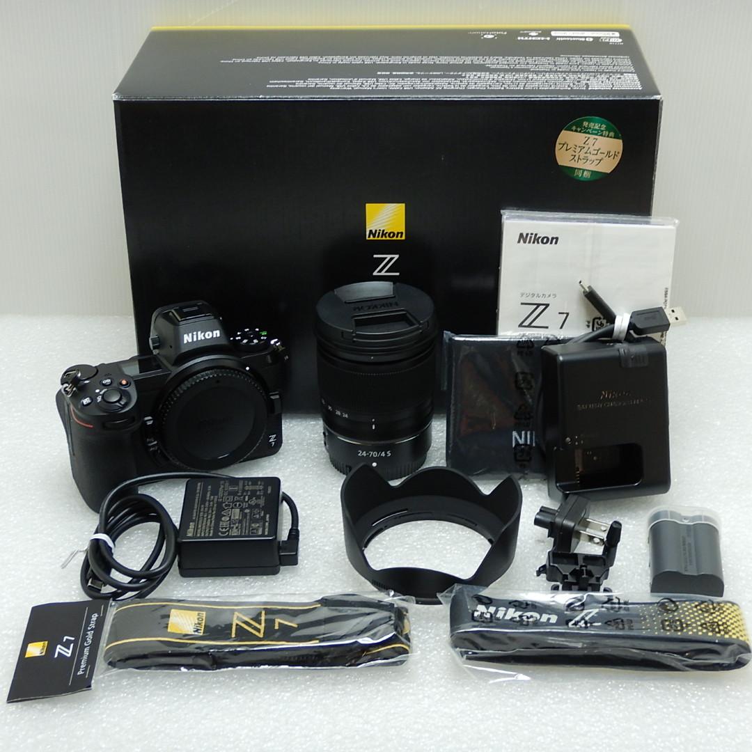 日本人気超絶の 【 Aランク】Nikon ニコン Z 7 24-70 レンズキット :NIKKOR Z 24-70mm f/4 S ミラーレス一眼, 品質検査済 4a5f76f1