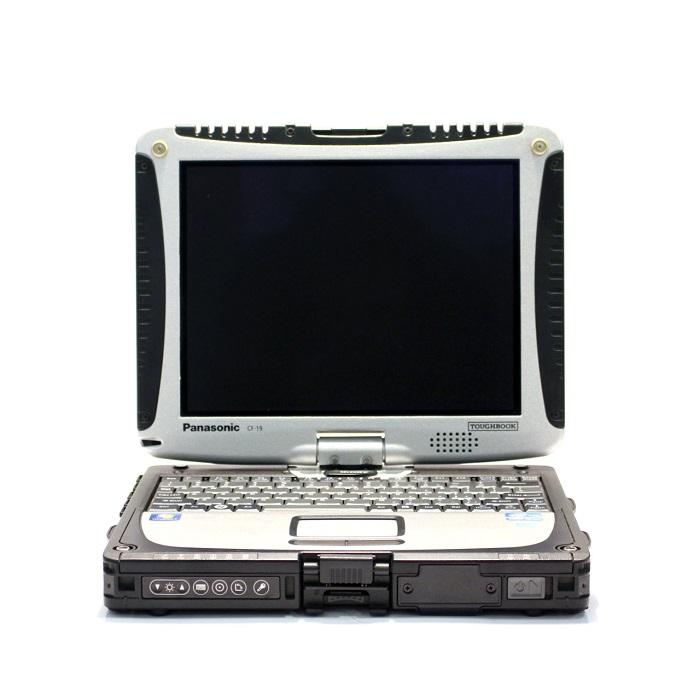 タッチ対応ノートパソコン Windows10 パナソニック タフブック モバイル Panasonic TOUGHBOOK CF-19 第二世代Core i5 メモリ4GB 新品SSD128GB Office付き Bluetooth 頑丈 中古パソコン 中古ノートパソコン モバイルPC Win10 Pro タッチパネル