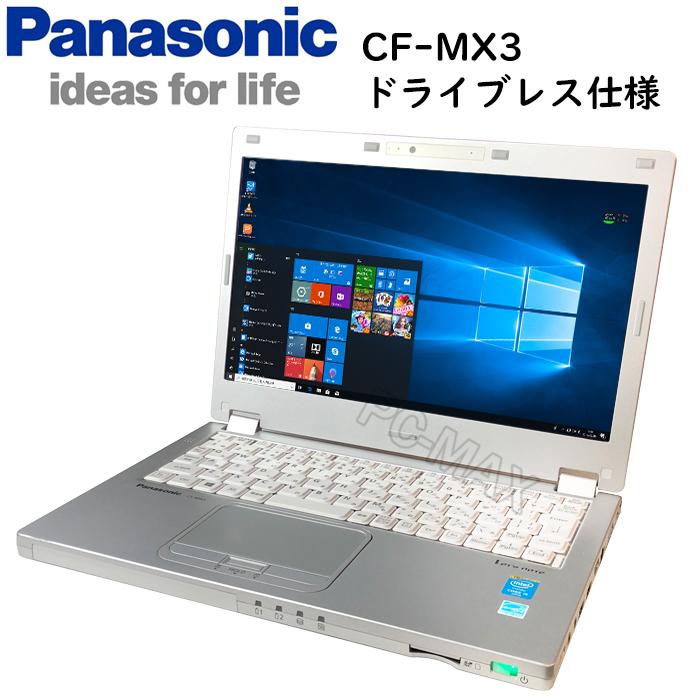 楽天市場】パナソニック Let's note CF-MX3 第四世代Core-i5 4GBメモリ ...
