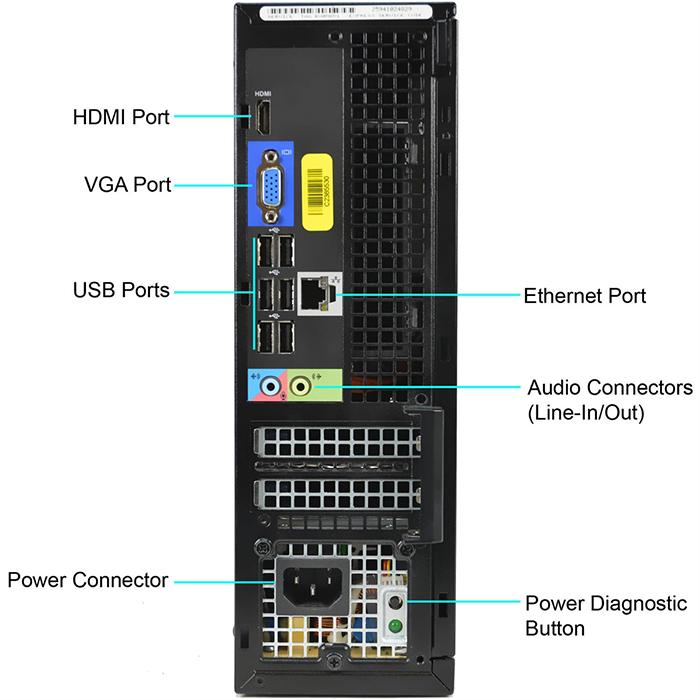 デル DELL OptiPlex 3010 SFF 【第三世代Core i3 4GBメモリー HDD:500GB HDMI 光学ドライブ 正規版Office付き】 デスクトップパソコン Windows10 パソコン Win10 デスクトップPC【あす楽】