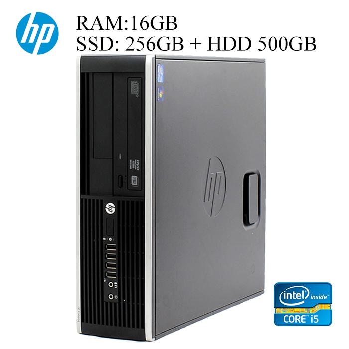 HP 第三世代Core-i5 16GBメモリ SSD256GB+HDD500GB 正規版Office付き ハイブリッド 中古パソコン デスクトップ eスポーツ Windows10 6300/8300 Elite SFFモデル