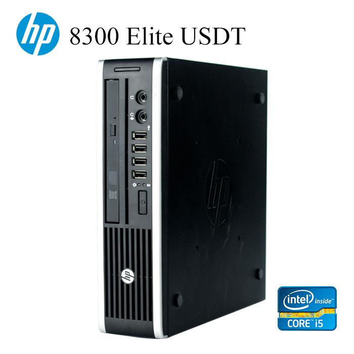 コンパクトPC HP 8300USDT 第三世代Core-i5 RAM:4GB SSD:128GB 正規版Office付き USB3.0 光学ドライブ DisplayPort デスクトップ Windows10 Windows7 中古パソコン Win10 中古デスクトップPC デスクトップパソコン